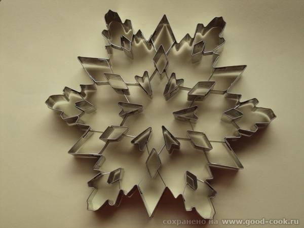 alinapupsi хаска спасибо снежинку делала такой формочкой