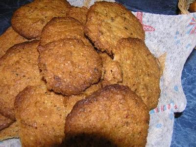 Овсяное печенье Подсушить в духовке 2 ст
