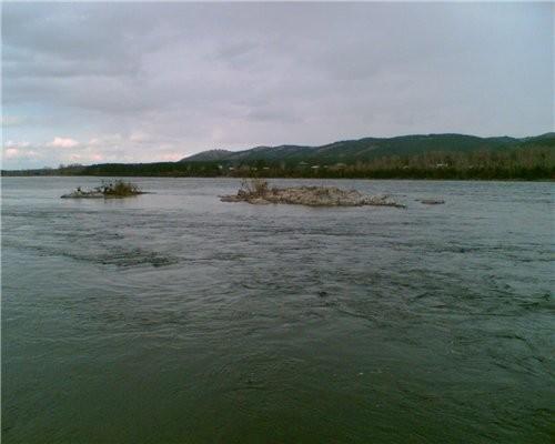 Река Енисей батюшка