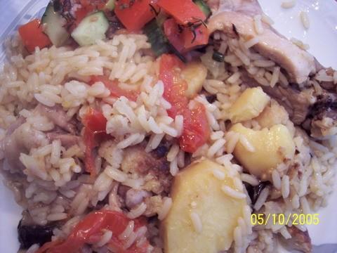 """Вера, сегодня на ужин зделала """"Маклюбу"""", очень вкусно и салатик к ней, очень вкусно, спасибки уже у..."""