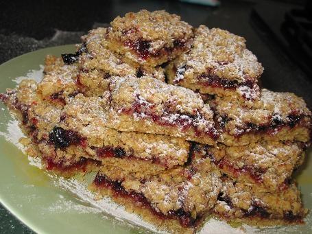 ПЕЧЕНЬЕ ОВСЯНЫЕ КВАДРАТИКИ С ДЖЕМОМ рецепт от Мишель,печенье очень вкусное,напоминает халву необход...