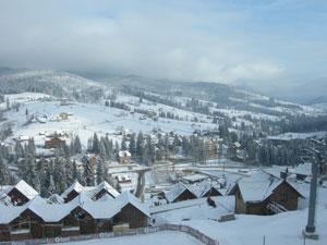 Катались на лыжах в Буковеле - 2