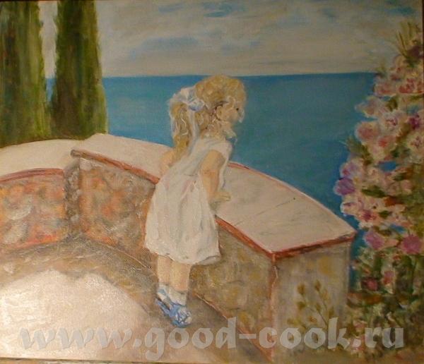 мне очень понравились эти работы дочка, наконец то сидит рисует - смывает- рисует - смывает эту усп... - 2