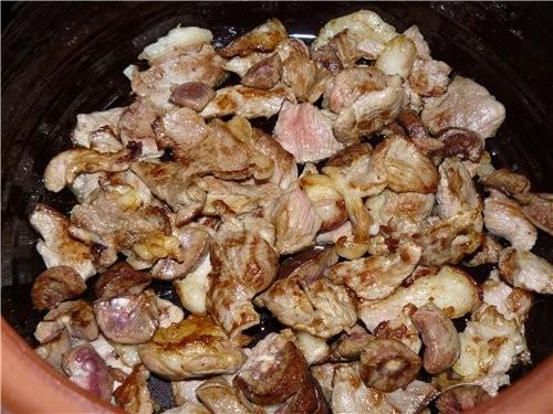 На днях делала рис в духовке в горшке(подареный мне в Болгарии) - 2