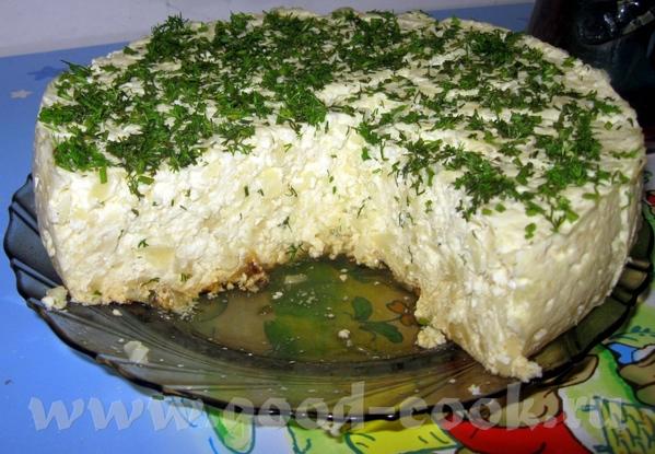 ЧИЗ по-молдавски с цветной капустой, творогом и брынзой 1 кг приваренной цветной капусты порезать м... - 3