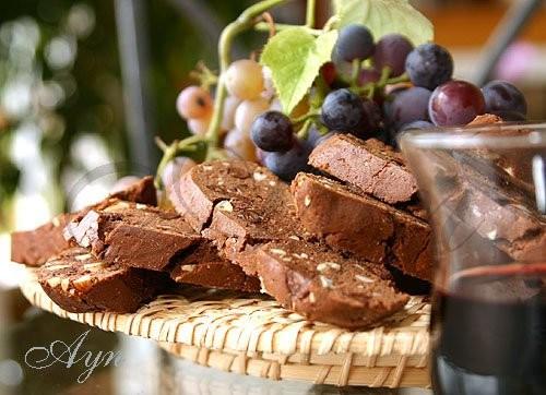 Я обожаю печь Шоколадные бискотти от Аун