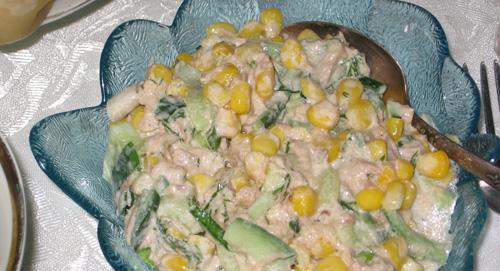 Незатейливый салатик (рецепт от с кукинга, словами автора) Как только наступает лето, люблю делать...