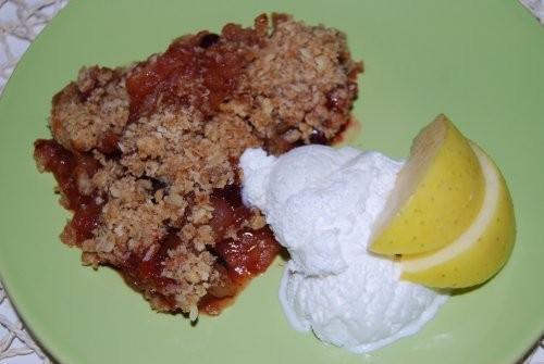 Олик (Ардабиола), спасибо большое за яблочно-клюквенный крисп, рецепт которого ты оставляла на пред...