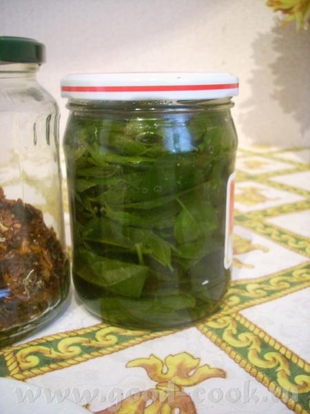 Пряные сливы в маринаде Вяленые томаты (в духовке) Хранение базилика в масле - 3