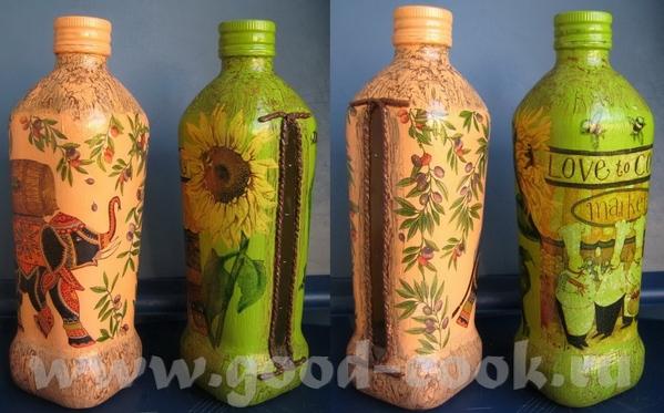 Бутылочки с маслом, специально с окошечком, чтобы контролировать уровень Бутылки стеклянные, грунт,...