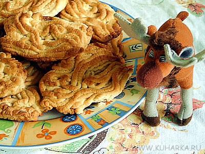 """На завтрак испекла печенье, благо делается в считанные минуты ПЕЧЕНЬЕ """"МАКАРОШКИ"""""""