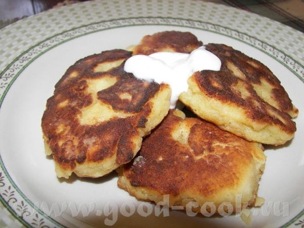 А вот и мои сырнички из Рикотты (на 2 порции) 170 г