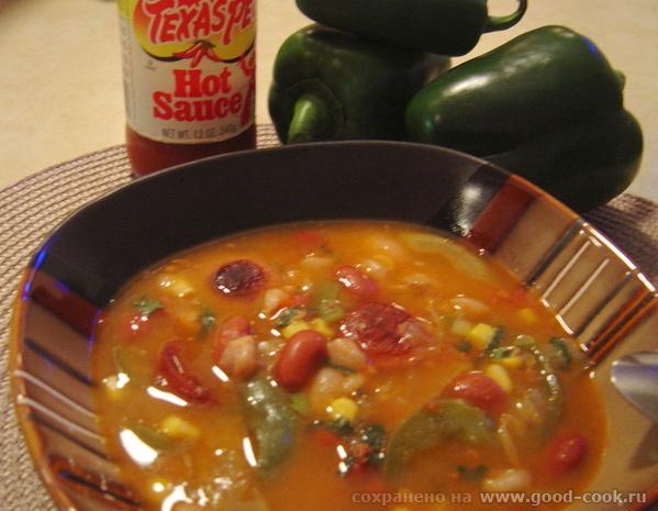 Мексиканский суп.