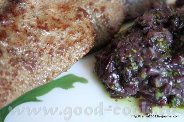 Foie de veau maniиre Franзoise - Телячья печень от бабушки Франсуазы (рецепты французских бабушек)...