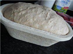 Мне так понравилась моя лепёшка , что я сегодня на его основе испекла хлеб на закваске - 2