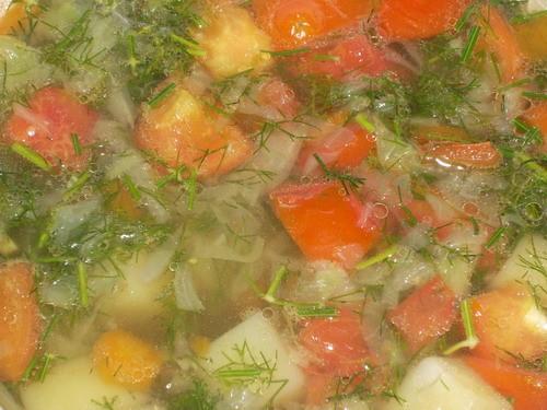 Сама обожаю это чудо-блюдо)) А воть такой супик у меня получился буквально 10 минут назад А это он... - 2