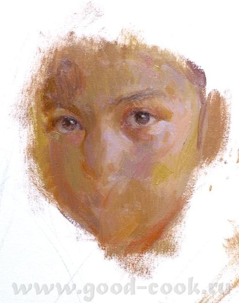Девушка поле рисунок карандашом
