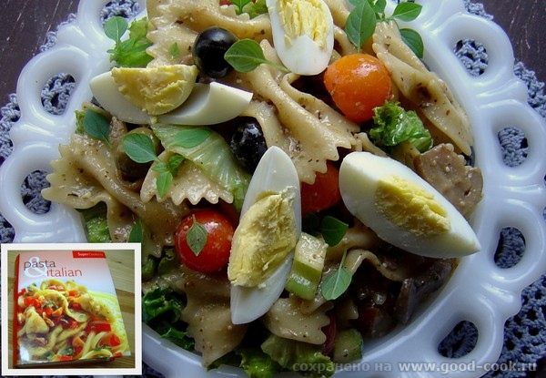 Vegetable pasta salad (Макаронный салат).