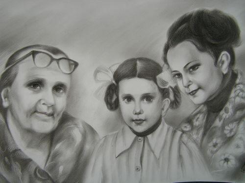 Я очень люблю своих бабушек