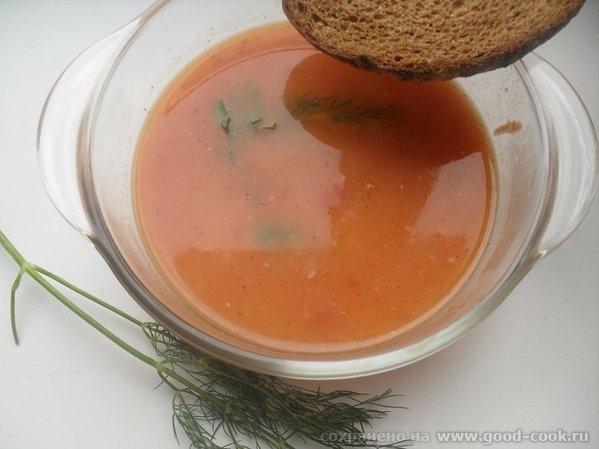 томатный супчик (из книги о постной кухне)
