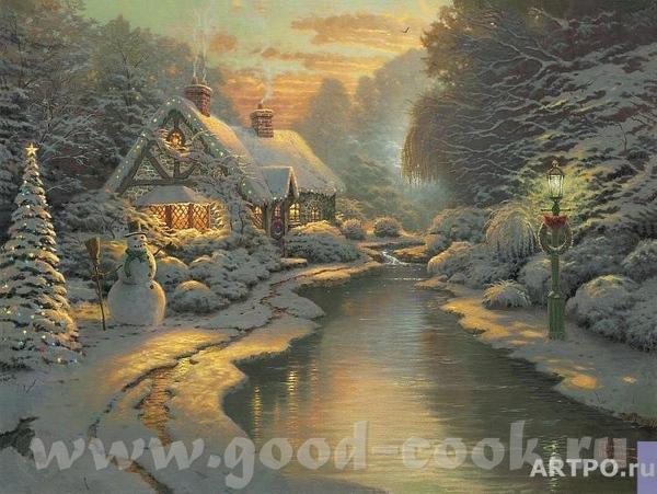 Немножко рождественских картин Т