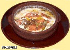Буюрды ( очень вкусная закуска ) Если будете делать в духовке возьмёте глиняную посуду