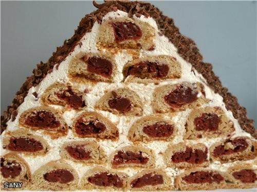 Хочу открыть новую темку тортом, который испекла,чтобы отпраздновать 10 месяцев Бранди