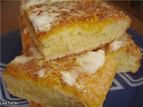 ОЛЕНЬКА, Несу спасибку за Кокосовый пирог Получился Ооооооооочень вкусный , только я немножко схалт...