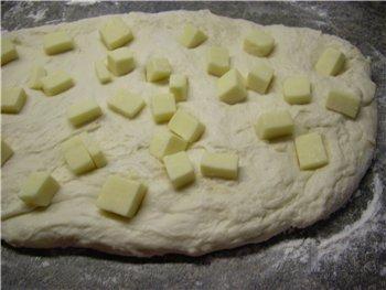 Для любителей хлеба с сыром предлагаю отличный рецепт из новой книги хлебных рецептов - 2