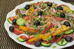 ХРАНЕНИЕ И ПОДГОТОВКА ЗЕЛЕНОГО САЛАТА Холодные cалаты Салаты лёгкие (закусочные) овощные 4 салата С...