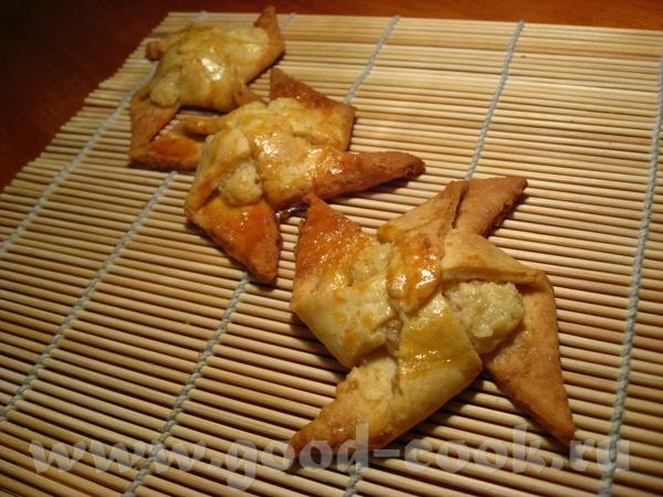 Печенье «Ветряные мельницы с кокосово-шоколадной начинкой»