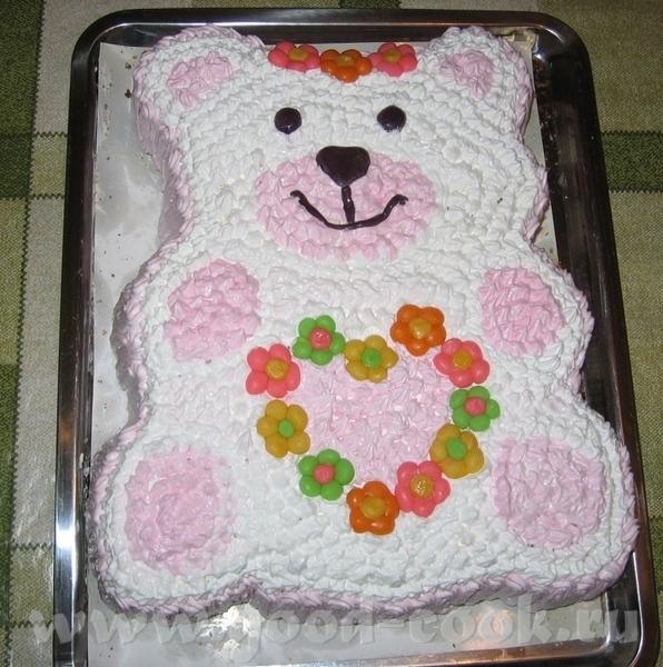 Как украсить торт для девочки на день рождения своими руками из крема 100