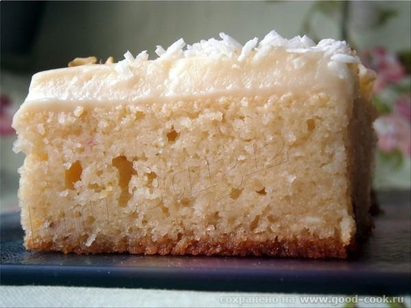 РЕВАНИ. Турецкий пирог с молочным кремом