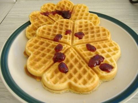Гофрети (домашние вафли) в Болгарии иногда по утрам ходила покупать на завтрак гофрети(вафли),там и... - 2