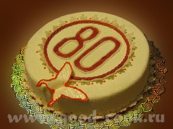 , у твоего торта, очень красивый цвет у мастики - 2