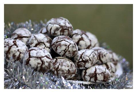 """Шоколадное печенье """"Трюфель"""" Рецепт от Ayn"""