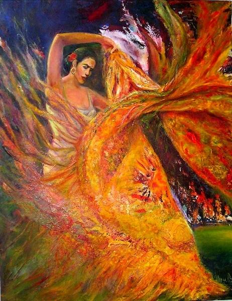 Девочки, милие, как много красоты Вы нарисовали- смотрю Ваши картины и горжусь Вами- Вы все очень т... - 5