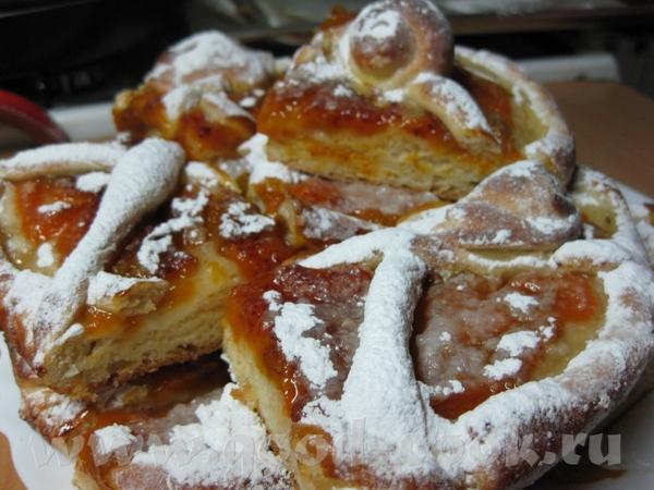 А вот теперь собственно причина моего возвращения в этому тесту: Пирог с консервированными абрикоса... - 4