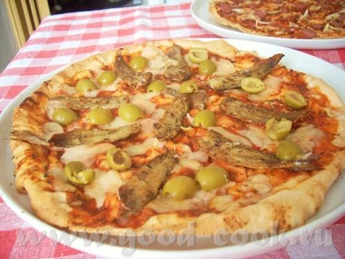 продолжаю пицце-отчёты рецепт одной из самых известных классических пицц подогнала под имевшиеся пр...