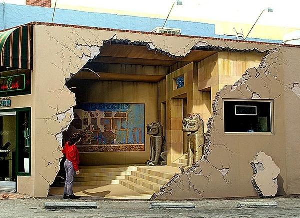 Дворик в Коктебеле Взято здесь Чувак прикалывается )) Это картина на стене Адамов, утро Взято здес... - 2