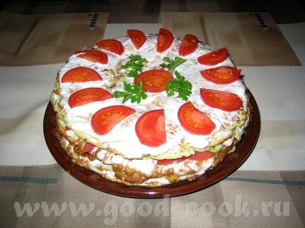 Спасибо ais20 за очень вкусный Кабачковый торт