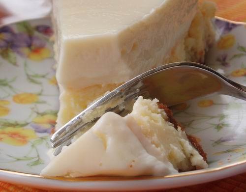 Чизкейк Нежный (я не делала) 2 чашки крошек печенья 1/2 чашки сахара 1 чашка орехов пекан,молотых м... - 3