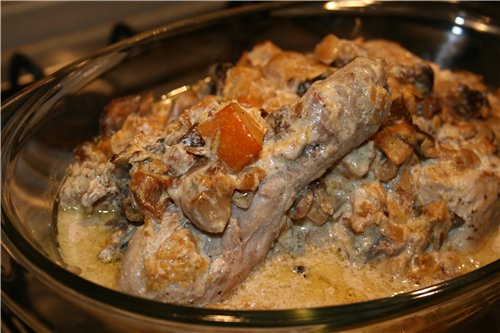 Это блюдо сытное и довольно каллорийное, но очень вкусное - 2
