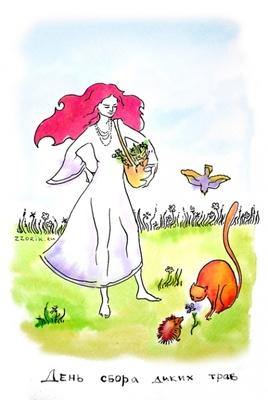 21 августа День сбора диких трав Травы и цветы, пробившись к солнцу сквозь слой земли, сразу начина...