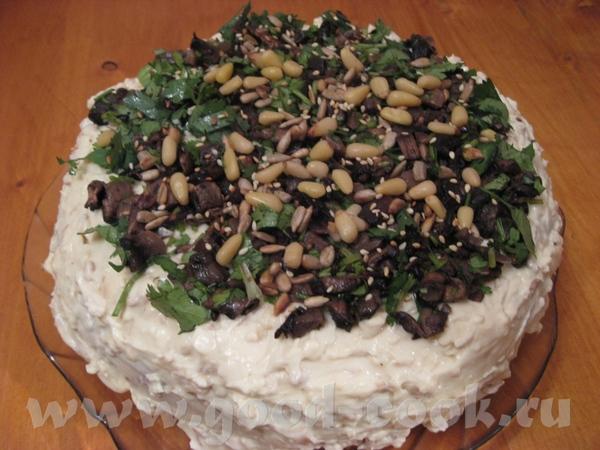 ГРИБНОЙ БИСКВИТНЫЙ ТОРТ от Ирины Кутовой ЦИТИРУЮ: Оригинальный торт