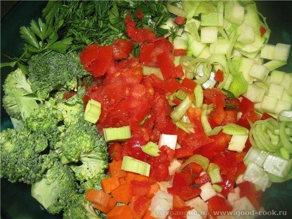 Моем овощи любые (за исключением картофеля, фасоли, гороха, кукурузы, щавеля и шпината) - 2
