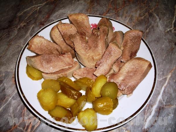 Вот еще одно блюдо для СВ, говяжий язык