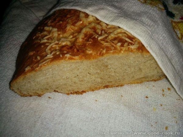 Сырный хлеб-косичка