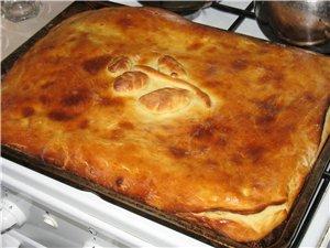 Решил пройтись по пирогам Пирог с капустой Пирог с картофелем и грибами Рецепт теста: Подогреть 0,5... - 2