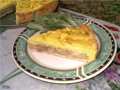 Тарт с курицей и картошкой - 2